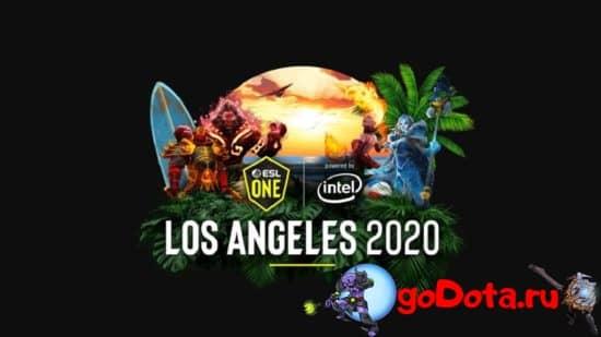 ESL ONE LA 2020