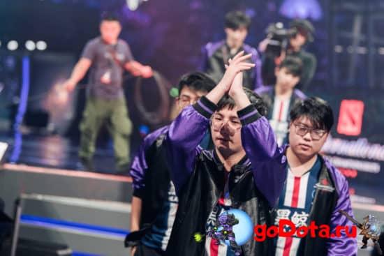 PSG.LGD побеждают на Chine Pro League
