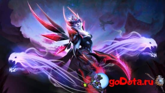 Vengeful Spirit в 7.25a