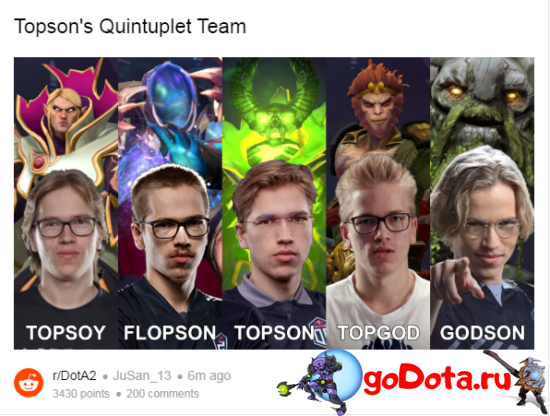 Мемы про Топсона