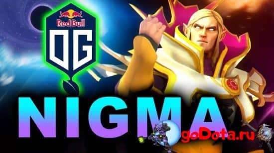 Вторая карта Nigma vs OG
