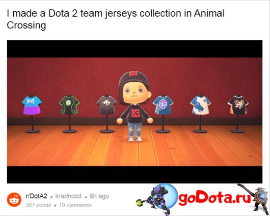 Скины в Animal Crossing