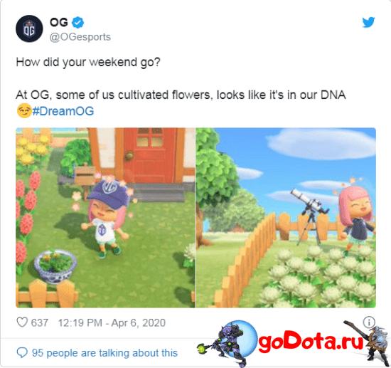 OG играют в Animal Crossing
