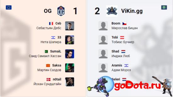 OG vs ViKin.gg на ESL One LA Online