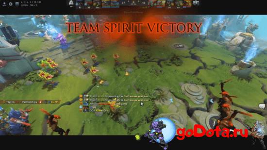 Spirit побеждают Alliance
