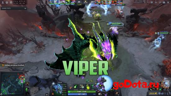 Viper - лучший контр пик DK в патче 7.26с