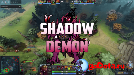 Shadow Demon- лучший контр пик DK в патче 7.26с
