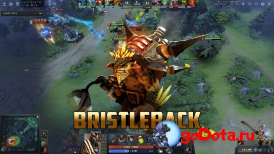 Bristleback - лучший контр пик DK в патче 7.26с