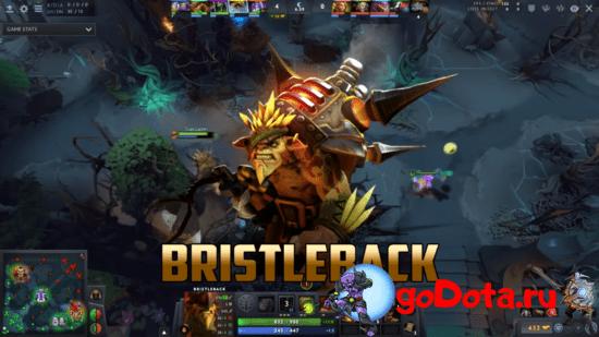 Bristleback - лучший контр пик Lycan в патче 7.26с