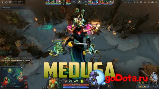 Medusa - лучший контр пик Lycan в патче 7.26с