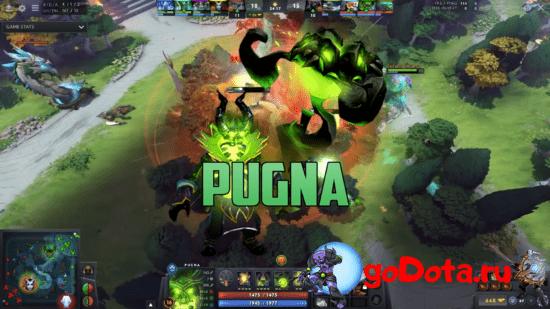 Pugna - лучший контр пик Necrophos в патче 7.26с