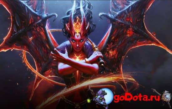 Queen of Pain - новая имба патча 7.27
