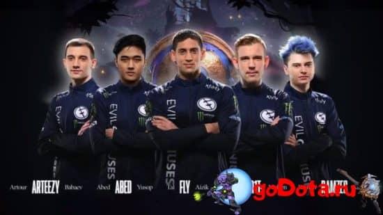 Evil Geniuses на TI10