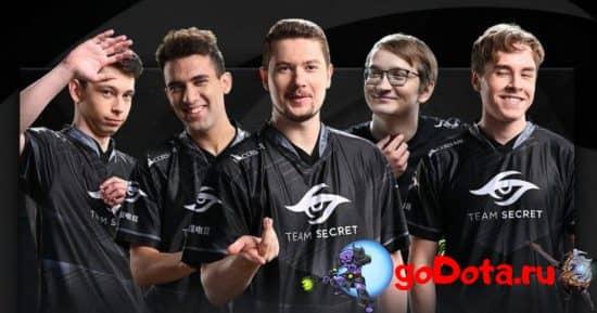 Team Secret на TI10