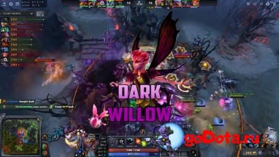Dark Willow в патче 7.27c