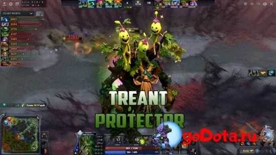 Treant Protector в обновлении 7.27c