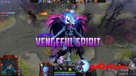 Vengeful Spirit в обновлении 7.27с