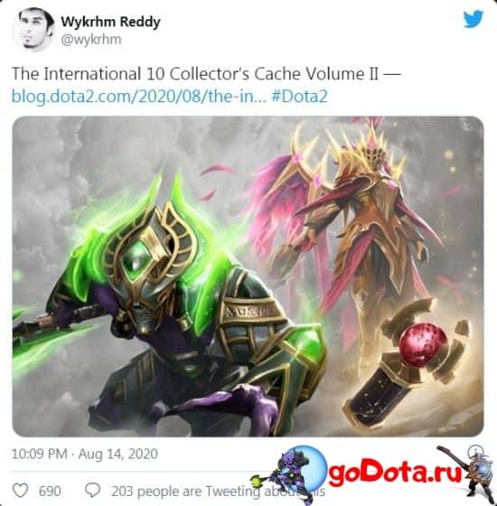 Заявление Valve о выпуске Collector's Cache 2