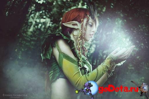 Какой была Enchantress в прошлом?