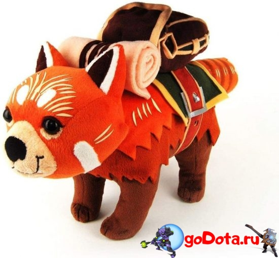 Плюшевые игрушки Дота 2