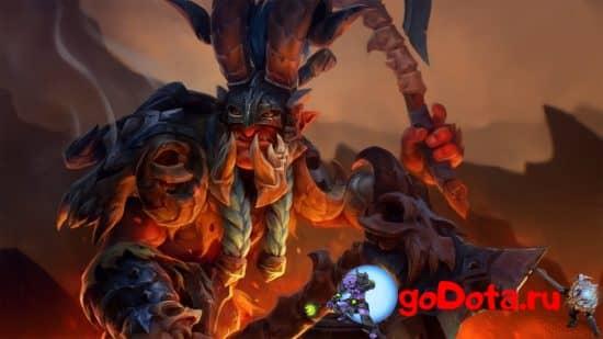 Troll Warlord в патче 7.28b