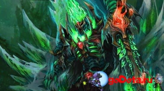 Wraith King в патче 7.28b